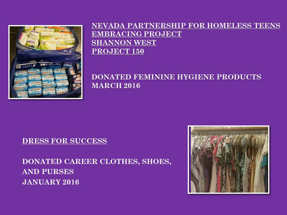 Donated Resources 2 SHERO Foundation