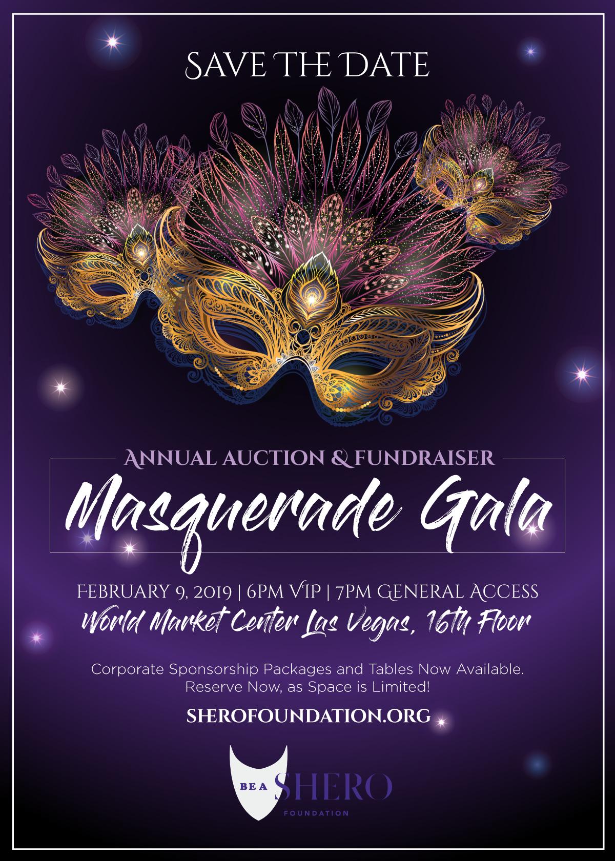 f7fd5a3cea Masquerade Gala 2019 - SHERO Foundation